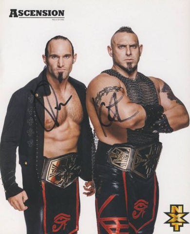 Ascension - Autographed WWE NXT 8x10 Promo Photo - maniacjoe