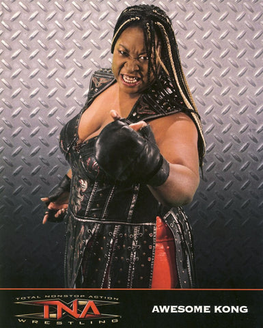 Awesome Kong - TNA Impact Wrestling 8x10 Photo