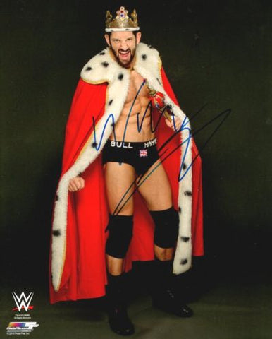 Bad News Barrett - Autographed WWE 8x10 Photo - maniacjoe