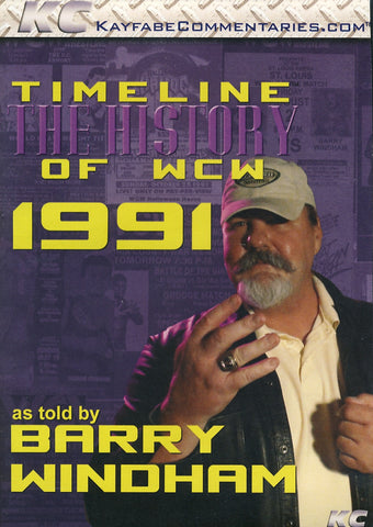 Timeline: The History of WCW 1991 with Barry Windham DVD