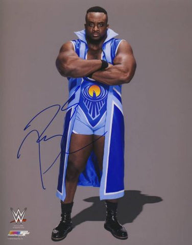 Big E Langston - Autographed WWE 8x10 Photo - maniacjoe