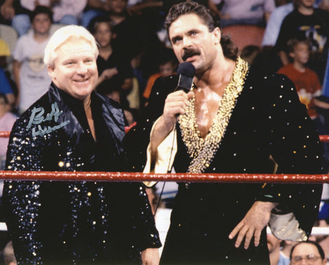 Bobby The Brain Heenan - Autographed 8x10 Photo