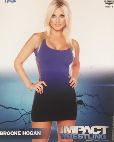 Brooke Hogan - TNA Impact Wrestling 8x10 Photo