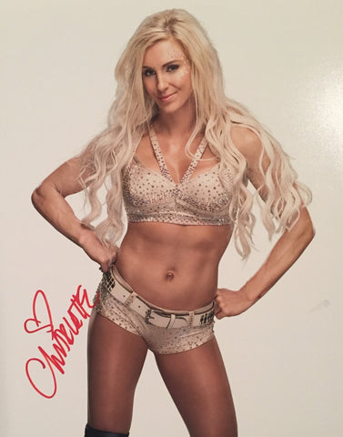 Charlotte Flair - Autographed 11x14 Photo