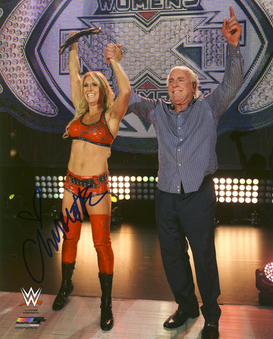 Charlotte Flair - Autographed WWE 8x10 Photo