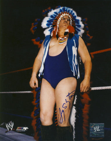 Chief Jay Strongbow - Autographed 8x10 Photo