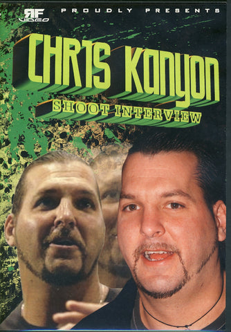 Chris Kanyon - Shoot Interview DVD
