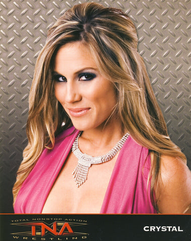 Crystal - TNA Impact Wrestling 8x10 Photo