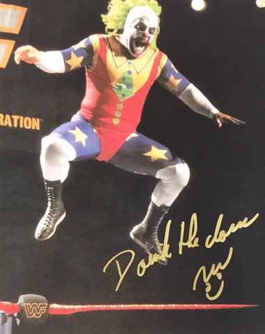 Doink the Clown (aka Ray Apollo) - Autographed 8x10 Photo