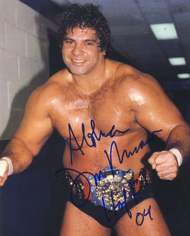 Don Muraco - Autographed 8x10 Photo