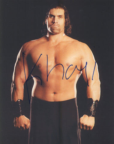 Great Khali - Autographed 8x10 Promo Photo