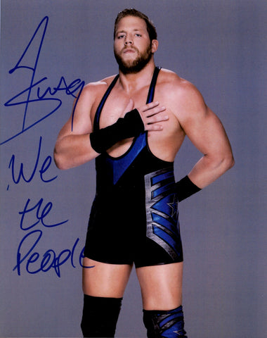 Jack Swagger - Autographed 8x10 Promo Photo