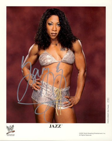 Jazz - Autographed WWE 8x10 Promo Photo