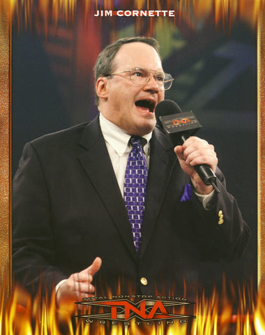 Jim Cornette - TNA Promo Photo