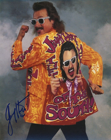 Jimmy Hart - Autographed 8x10 Photo