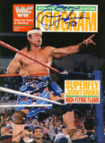 Jimmy Superfly Snuka - Autographed WWF Wrestling Program