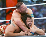 John Cena & Rusev - WWE WrestleMania 31 Photo