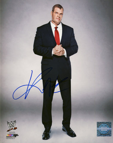Kane - Autographed WWE 8x10 Photo