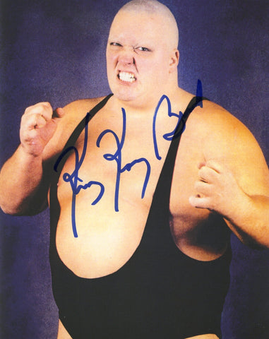 King Kong Bundy - Autographed 8x10 Promo Photo