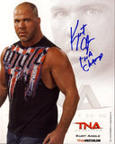 Kurt Angle - Autographed TNA Promo Photo