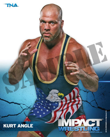 KURT ANGLE - TNA Promo Photo