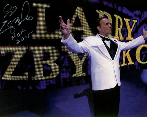 Larry Zbyszko - Autographed Promo Photo