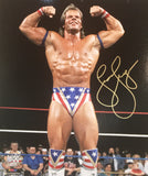 Lex Luger - Autographed WWE 8x10 Photo