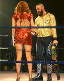 Maria Kanellis and Mike Bennett - Autographed 8x10 Photo