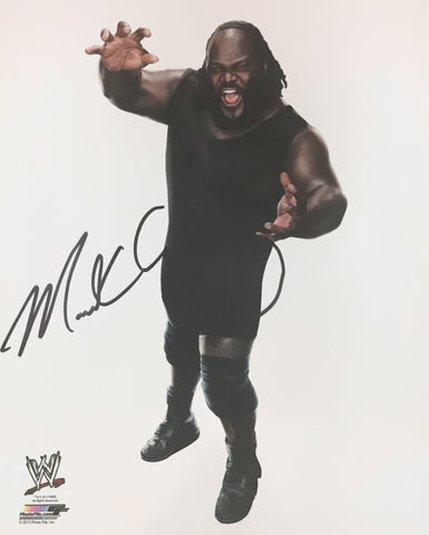 Mark Henry - Autographed WWE 8x10 Photo