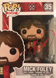 Mick Foley - Autographed WWE Pop Funko