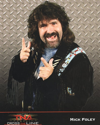 Mick Foley - TNA Impact Wrestling 8x10 Photo