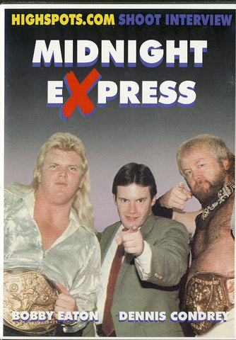 Midnight Express - Shoot Interview DVD