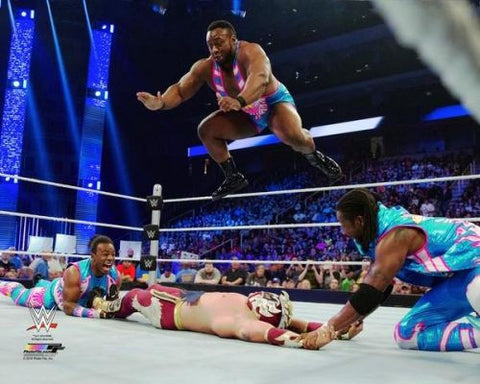 New Day (Kofi Kingston, Xavier Woods, Big E) - WWE Photo #3
