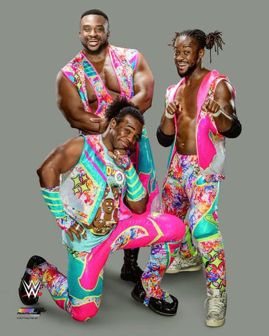 New Day (Big E, Xavier Woods, Kofi Kingston) - WWE Photo #5
