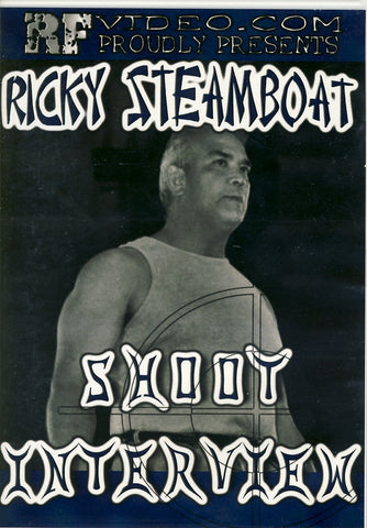 Ricky Steamboat - Shoot Interview DVD