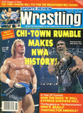 Ricky The Dragon Steamboat - Autographed Wrestling Magazine
