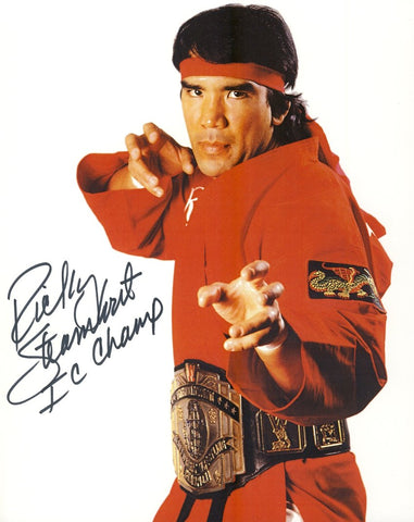 Ricky The Dragon Steamboat - Autographed 8x10 Promo Photo