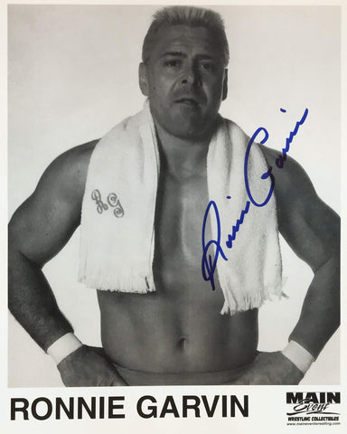 Ronnie Garvin - Autographed 8x10 Promo Photo