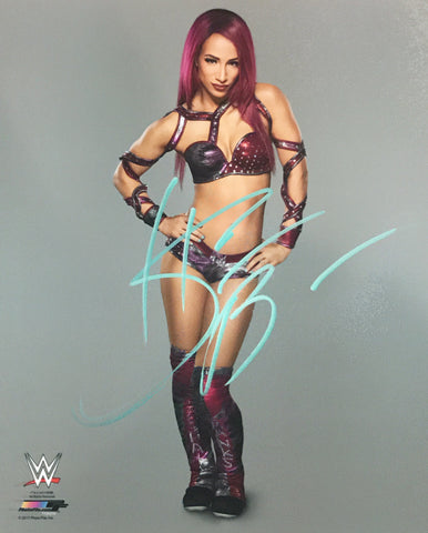 Sasha Banks - Autographed WWE 8x10 Photo