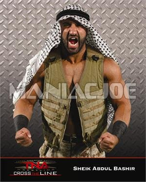 Sheik Abdul Bashir (aka Shawn Daivari) - TNA Promo Photo