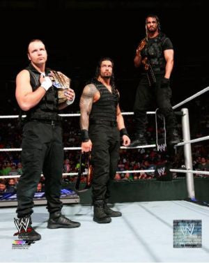 Shield (Dean Ambrose, Roman Reigns, Seth Rollins) - WWE Photo #4