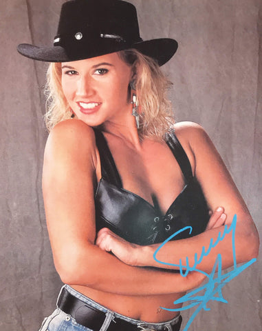 Sunny - Autographed 8x10 Promo Photo