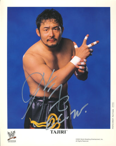 Tajiri - Autographed WWE 8x10 Photo