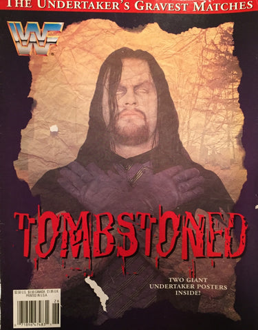 WWF Magazine - Tombstoned, Undertaker's Gravest Matches