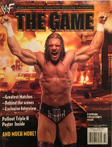 "WWF Magazine - Triple H ""The Game"""