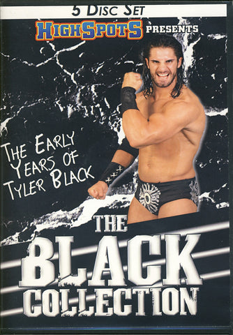 The Early Years of Tyler Black  (aka Seth Rollins)  DVD