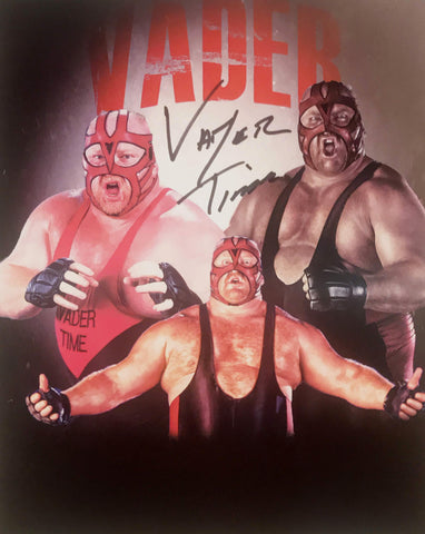 Vader - Autographed 8x10 Promo Photo