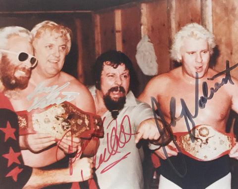 Valiant Brothers - Autographed 8x10 Photo
