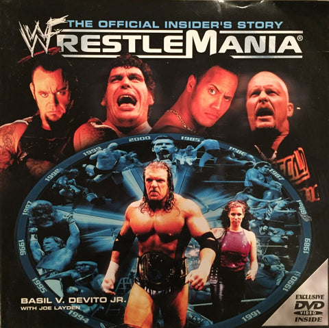 WWF WrestleMania The Official Insider's Story - Coffee Table Book