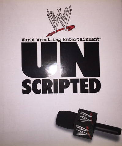 WWE Unscripted - Coffee Table Book